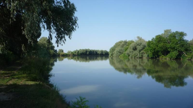 анапа кубань река.