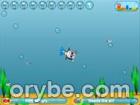 Игра - Кот - ныряльщик