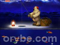 Игра - Зимняя рыбалка