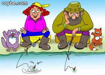 анекдот про кружок рыбаков